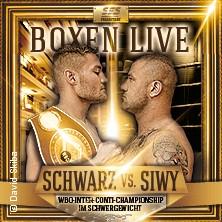 Exklusive Box-Gala: Tom Schwarz - WBO-Inter-Conti Schwergewicht in MAGDEBURG * Maritim Hotel Magdeburg,