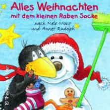 Karten für Alles Weihnachten mit dem kleinen Raben Socke - Theater auf Tour in Delbrück
