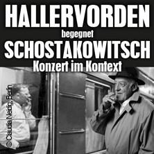 Dieter Hallervorden begegnet Schostakowitsch mit der Deutschen Sinfonietta