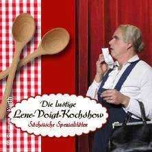 Koch-Kabarett mit Jürgen Fliegel: Die lustige Lene-Voigt-Kochshow in LEIPZIG * Leipziger Central Kabarett