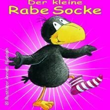Der kleine Rabe Socke - Das LIVE-Figurentheater für Kinder in BERLIN, 19.02.2018 - Tickets -