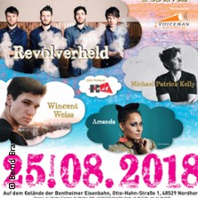 5. Grafschaft Open Air 2018 - Revolverheld, Wincent Weiss, Michael Patrick Kelly, Amanda u.a. in NORDHORN * Festwiese Bentheimer Eisenbahn,
