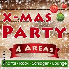 X-Mas Party - 4 Areas – Charts, Rock, Schlager, Lounge