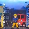 Feuerwehrmann Sam rettet den Zirkus! - Logo