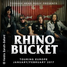 Karten für Rhino Bucket: Europe 2018 in Bordesholm