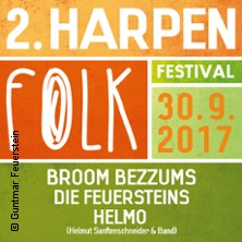 Harpen Folk Festival Karten für ihre Events 2017