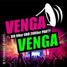 VENGA VENGA: Deutschlands größte 90er & 2000er Party in Potsdam / Babelsberg * Filmpark Babelsberg / Metropolis Halle,