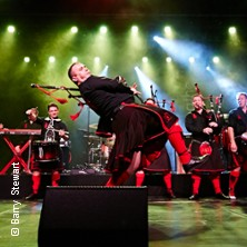 Red Hot Chilli Pipers Karten für ihre Events 2018
