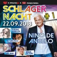 Schlagernacht #1 Nino de Angelo, Nadine Maikler, Eli Melinda u.v.a.