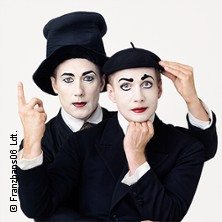 Festival der Wortlosen Komik - Bodecker & Neander - Pantomime Theater in BERLIN * Humboldt-Saal der URANIA Berlin e.V.