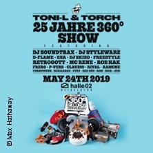 25 Jahre 360° - 25 Artists feiern 25 Jahre Hip Hop in Heidelberg in Heidelberg, 24.05.2019 - Tickets -