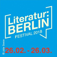 Literatur: Berlin 2018 in BERLIN * Maschinenhaus in der Kulturbrauerei