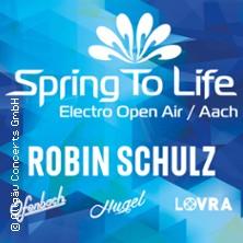 Spring to Life Electro Open Air - Robin Schulz, u.a.m.
