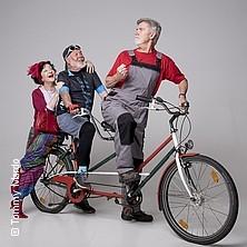 Tandem für drei - Eine Fahrradkomödie in Dur und Moll | Schatzkistl Mannheim in MANNHEIM * SCHATZKISTL Das Musik-Kabarett,