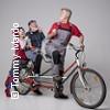 Tandem für drei  -  Eine Fahrradkomödie in Dur und Moll Karten