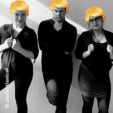 Hawlicek, Montgomery, Zuck: Trumpenstein Fake News waren gestern  in BERLIN * Distel-Studio,
