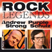 Andrew Strong & Purple Schulz - Rock Legends Live in HÜCKELHOVEN * Aula des Gymnasiums,
