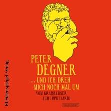 LVZ Buchvorstellung - Peter Degner Ich dreh mich nochmal um in LEIPZIG * LVZ Kuppelhalle,