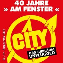CITY - 40 Jahre Am Fenster in LANDSBERG B. HALLE, SAALE * Gasthof Goldener Löwe,