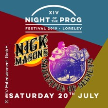 Nick Mason's Saucerful of Secrets in St. Goarshausen, 20.07.2019 - Tickets -