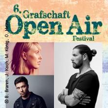 6. Grafschaft Open Air: Rea Garvey, Lea, Nico Santos in NORDHORN * Festwiese Bentheimer Eisenbahn,