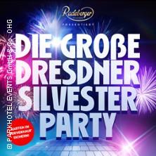 Karten für Die Grosse Dresdner Silvester Party in Dresden