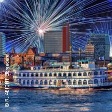 Karten für Silvester Gala Abend - Schaufelradschiff LOUISIANA STAR | Rainer Abicht Elbreederei in Hamburg