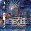 Silvester Gala Abend - Schaufelradschiff LOUISIANA STAR | Rainer Abicht Elbreederei