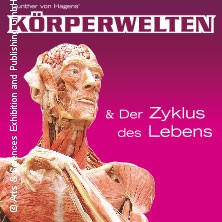 Körperwelten in Regensburg: Der Zyklus des Lebens in REGENSBURG * Ehem. Gartencenter im DEZ,