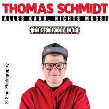 Thomas Schmidt: Alles kann, nichts muss