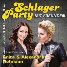 Die Schlagerparty mit Freunden - 30 Jahre Leidenschaft präsentiert von Anita & Alexandra Hofmann in EISENHÜTTENSTADT * Friedrich-Wolf-Theater,