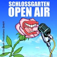 Festivals: Schlossgarten Open Air 2017 Karten