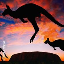 Karten für Australien - Ein Jahr AUS - zeit:Audiovisions - Reportage in Minden