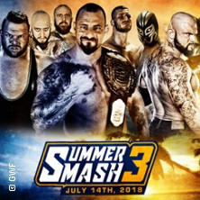 German Wrestling Federation: GWF Summer Smash 2018 in BERLIN * HUXLEY'S NEUE WELT,