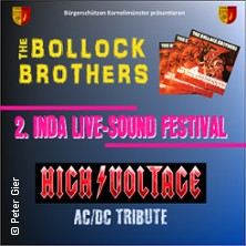 2. Inda Live-Sound Festival - The Bollock Brothers + High Voltage (AC/DC)