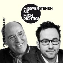 Karten für Gregor Gysi u. Kurt Krömer: Missverstehen Sie mich richtig! in Berlin
