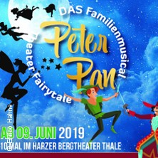 Peter Pan - mit Tinkerbell und Hook - Harzer Bergtheater Thale