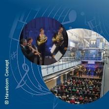 Klassik Live in der MAZ - Druckerei - Bläserensemble der Kammerakademie Potsdam in POTSDAM * Druckhaus / Rotation der Märkischen Allgemeinen,