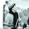 Drei Männer im Schnee - Stadthalle Delbrück
