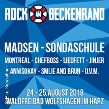 Rock am Beckenrand