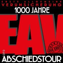 Erste Allgemeine Verunsicherung: 1000 Jahre EAV - Abschiedstournee (die Erste) 2019 in REGENSBURG * Donau-Arena,