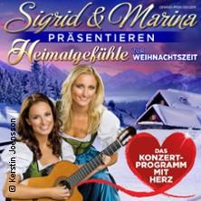 Sigrid & Marina präsentieren: Heimatgefühle zur Weihnachtszeit 2018 in ERKNER * Stadthalle Erkner,