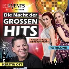 Die Nacht der großen Hits - Kerstin Ott - RotBlond - DJ Bonapart in ERKNER * Stadthalle Erkner,