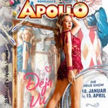 Roncalli's Apollo Varieté Karten für ihre Events 2018