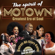 The Spirit Of Motown - Greatest Era Of Soul in Unna, 05.04.2019 - Tickets -