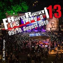 Hütte Rockt Festival 2019 in GEORGSMARIENHÜTTE * Hütte Rockt Festival Gelände,