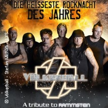 Völkerball-Rammstein-Coverband in Koblenz, 14.06.2019 -