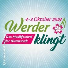 Werder klingt 2021 - Das Musikfestival der Blütenstadt