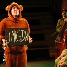 Der Bär, der nicht da war - Theater der Jungen Welt in LEIPZIG * Theater der Jungen Welt,