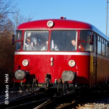 Lech-Romantik-Bahn in AUGSBURG * Augsburg Hbf,